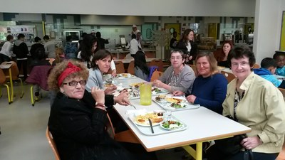 Repas européen au restaurant